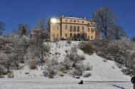 Schloss Ettersburg heute, (aus)strahlend. Foto Maik Schuck.
